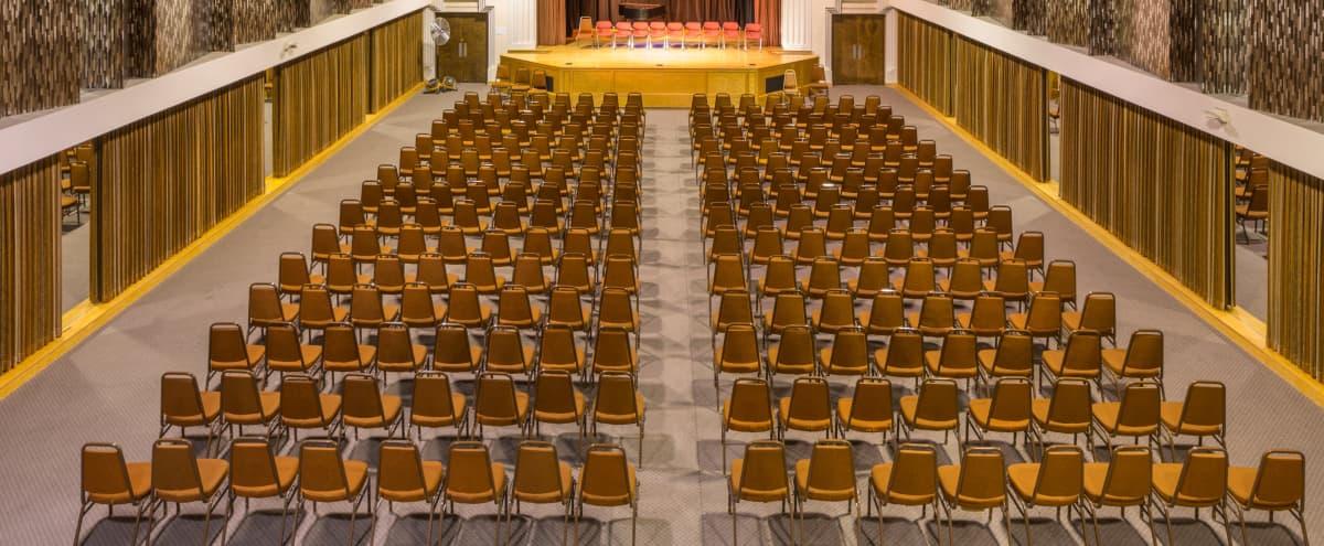 Conference & Seminar Space in Unique Art Deco Auditorium in San Francisco Hero Image in Mission Dolores, San Francisco, CA