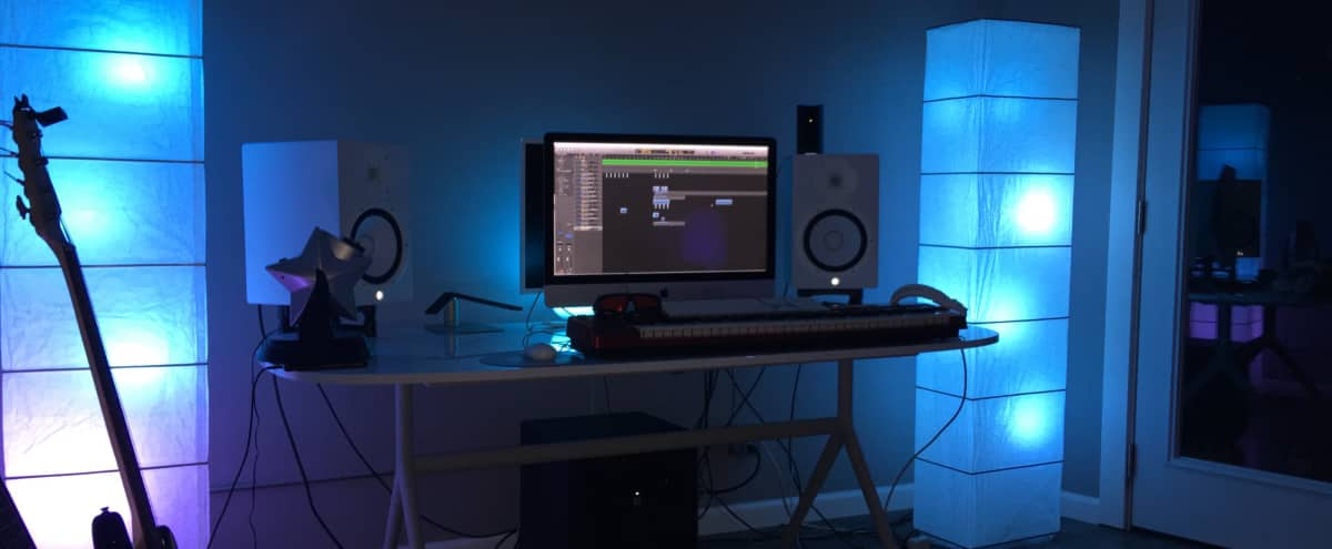 LA Professional Recording Studio/Creative Space in Los Angeles Hero Image in Koreatown, Los Angeles, CA