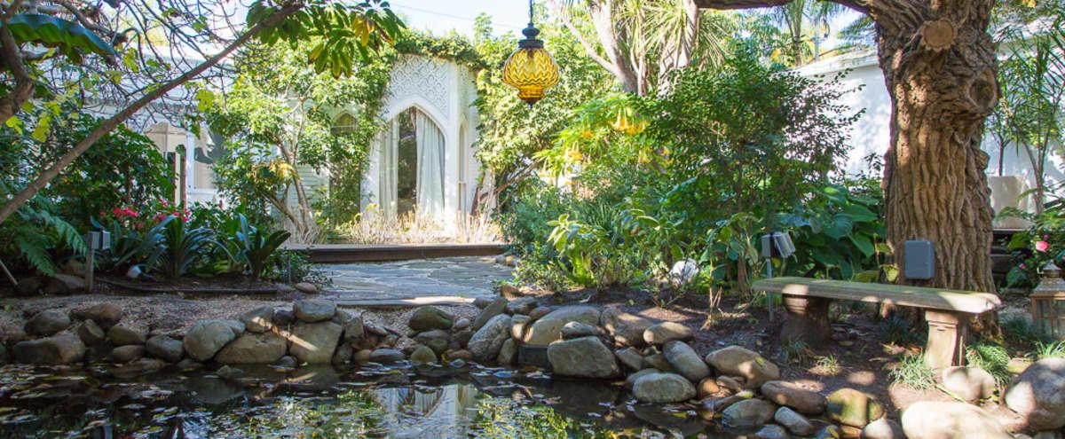 Majestic Moroccan Secret Garden Oasis in Venice Hero Image in Venice, Venice, CA
