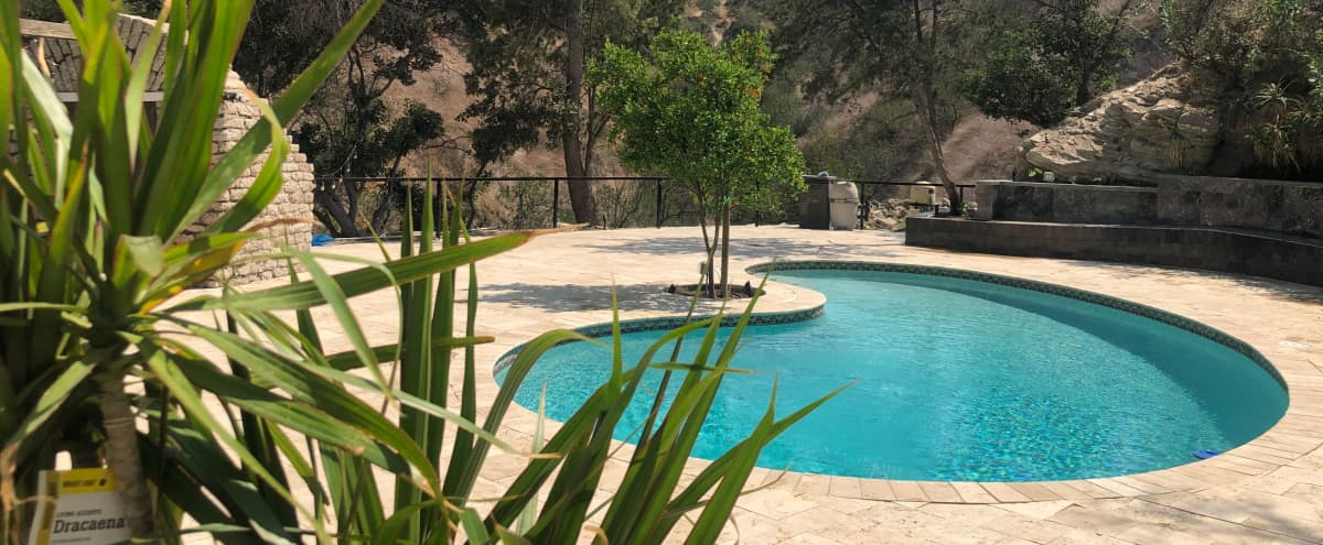 Luxurious Outdoor Space with Huge Lounge and Pool in the Hills in Sherman Oaks Hero Image in Sherman Oaks, Sherman Oaks, CA