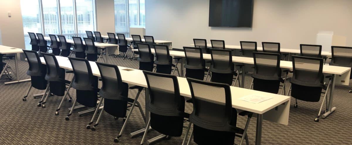 Spacious 48 Person Alpharetta Meeting, Training & Presentation Room in Alpharetta Hero Image in undefined, Alpharetta, GA