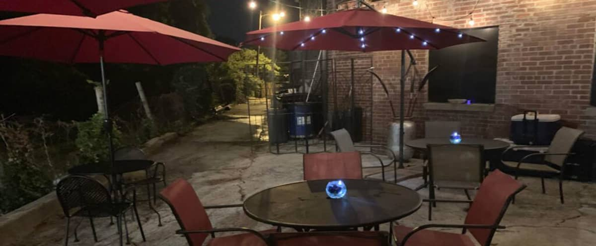 Cafe and Event Space along City Beltline with Outside Seating in Atlanta Hero Image in Westview, Atlanta, GA
