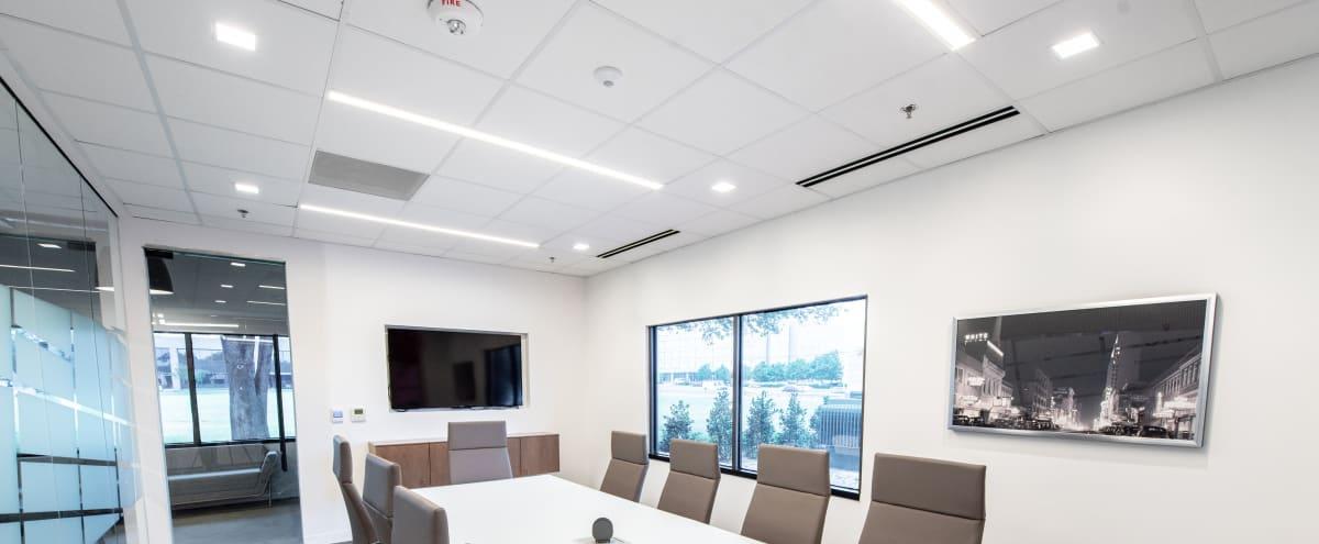 Stunning Executive Boardroom for 10 in Dallas Hero Image in Far North Dallas, Dallas, TX