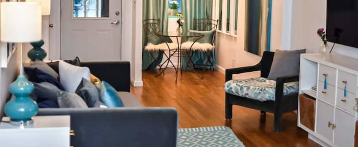 Modern Garden Apartment Suite in New York Hero Image in Sugar Hill, New York, NY