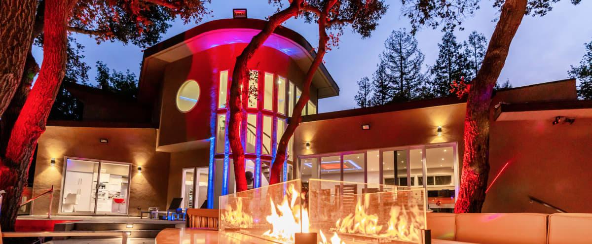 Ultra Modern Stunning Open Floor Entertainment in Los Altos Hills Hero Image in undefined, Los Altos Hills, CA
