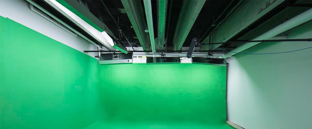 Incredible Film & Photo Studio With White + Green Cyc, Full Lights, with tons of gear available in-house in Boulder Hero Image in Central Boulder, Boulder, CO