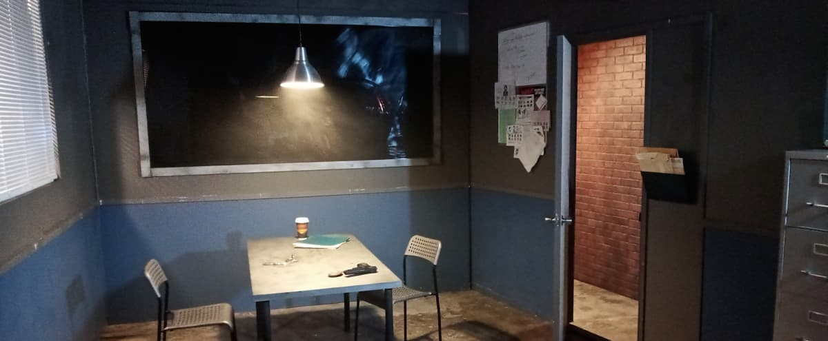 Interrogation Room , Police Station, Office, Government Building Set, Etc. at Studio Space in Burbank Hero Image in undefined, Burbank, CA