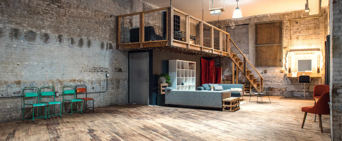 1300 Sq Ft Renovated Warehouse for Photo/Film Productions in Brooklyn Hero Image in Sunset Park, Brooklyn, NY