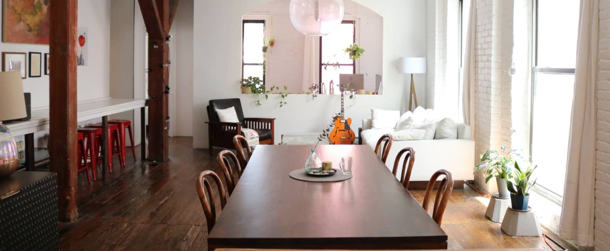 Red Hook Home: Loft w/ Private Terrace in brooklyn Hero Image in Columbia Street Waterfront District, brooklyn, NY