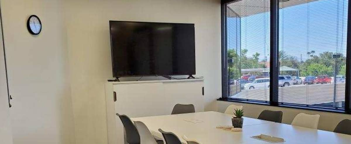 Equipped Modern Conference Room for 13 in Phoenix Hero Image in Camelback East Village, Phoenix, AZ