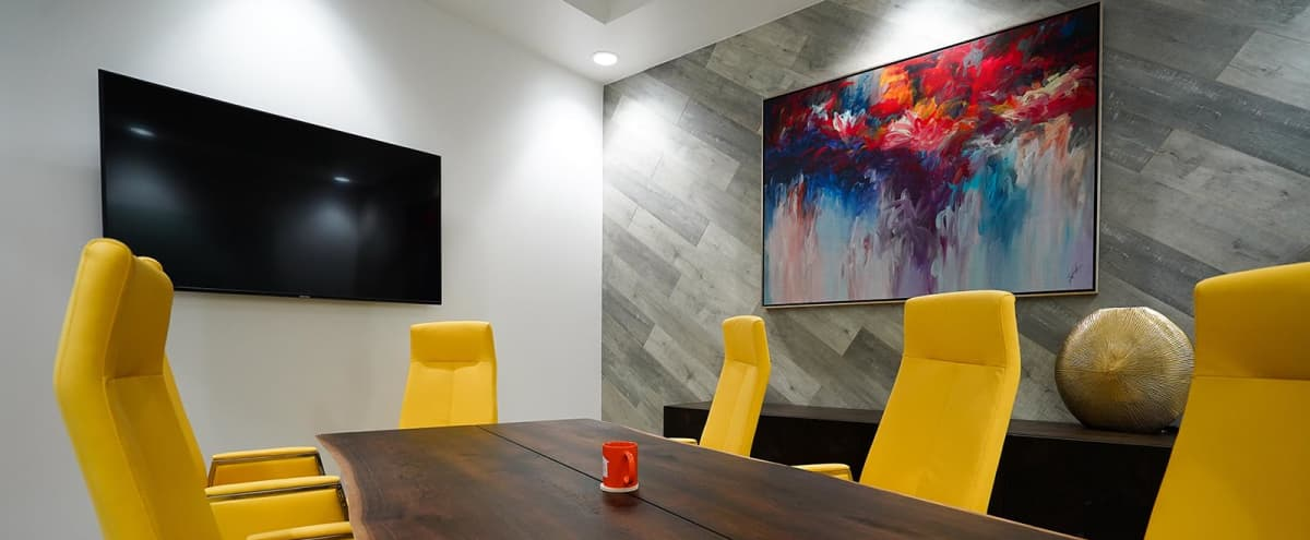 Premium, Class A Conference Room for Energized Meetings in Dallas Hero Image in Design District, Dallas, TX