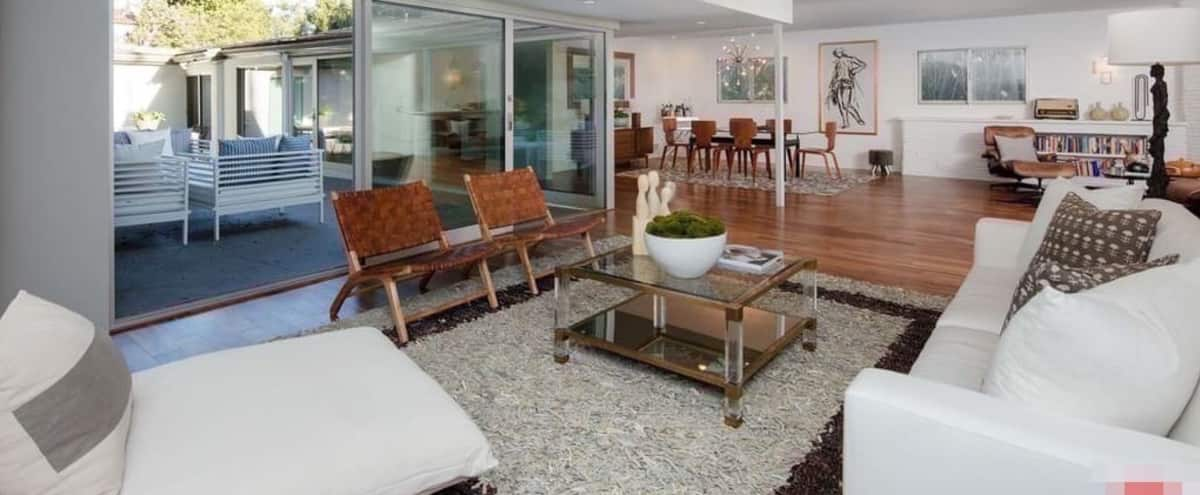 Authentic Mid century with large patio and water fountain feature. in LOS ANGELES Hero Image in Central LA, LOS ANGELES, CA