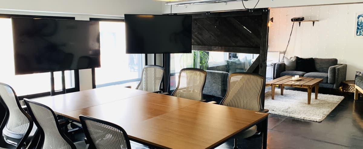 High-Tech Conference Room in San Francisco Hero Image in Financial District, San Francisco, CA