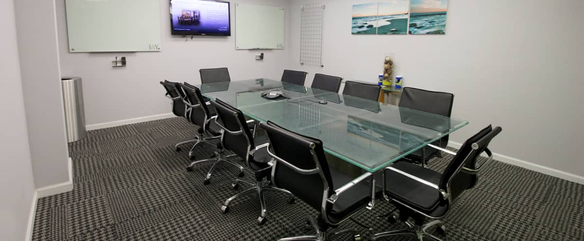 Elegant Meeting Space for 12 @ Penn Station- Meeting Room A in New York Hero Image in Garment District, New York, NY