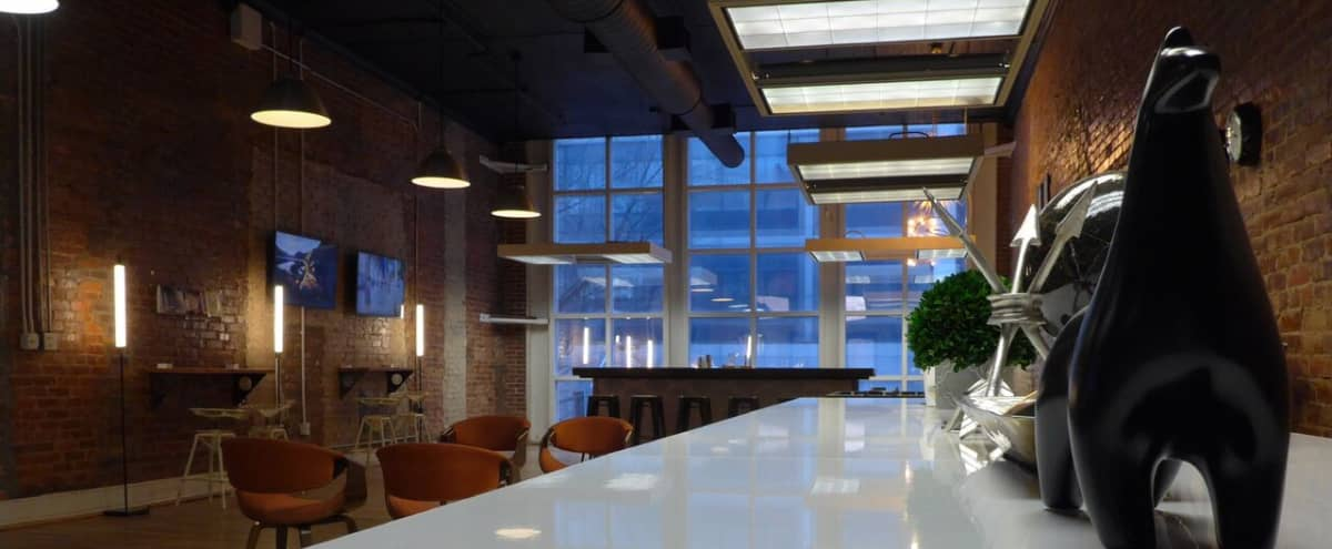 Downtown Industrial Office with Event Space and Bar in Atlanta Hero Image in Downtown Atlanta, Atlanta, GA