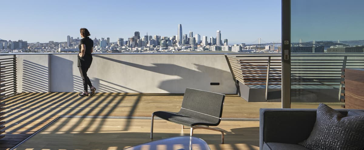 Modern Penthouse Suite with Sweeping Views of Downtown SF and The Bay in SAN FRANCISCO Hero Image in Potrero Hill, SAN FRANCISCO, CA