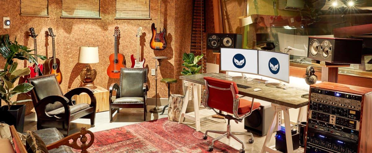 Cozy Brooklyn Recording Studio & Spacious Lounge Space in Brooklyn Hero Image in Clinton Hill, Brooklyn, NY