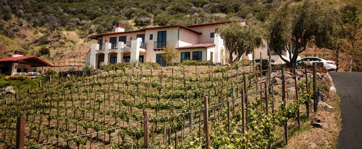 Tuscan Style Vineyard Estate with Panoramic  Mountain Views in Malibu Hero Image in undefined, Malibu, CA