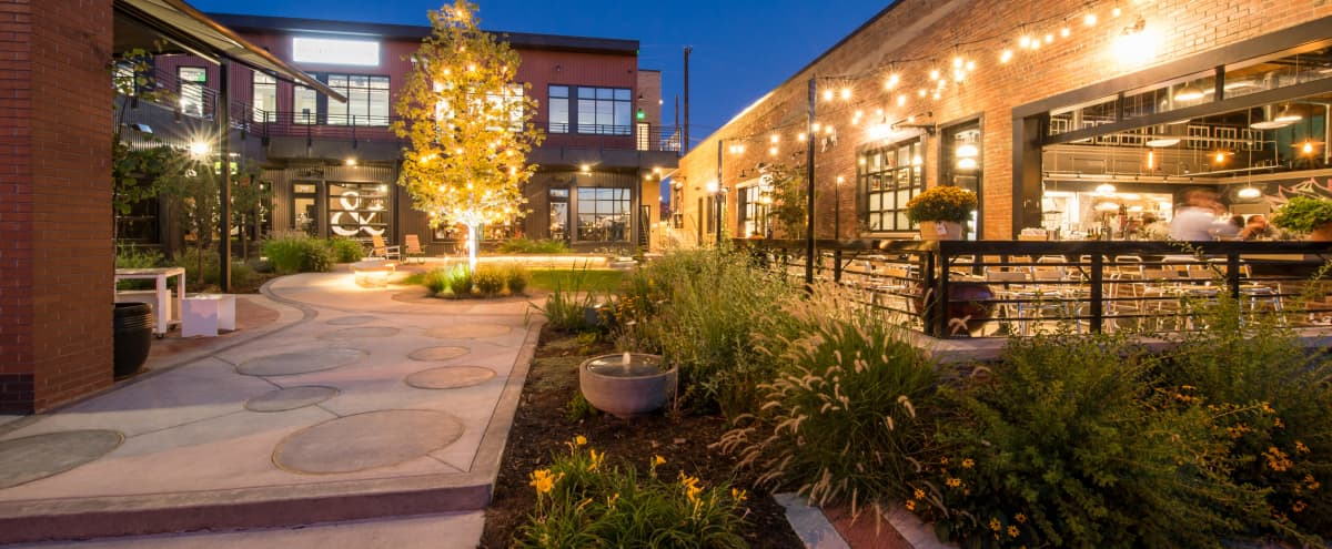 Open Concept Courtyard for Outdoor Film/Photo Production in Colorado Hero Image in Five Points, Colorado, CO