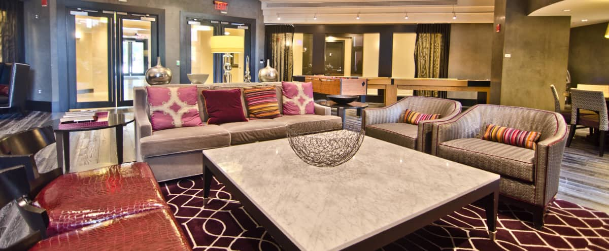 Modern and Versatile Clubroom in Washington Hero Image in Northwest Washington, Washington, DC