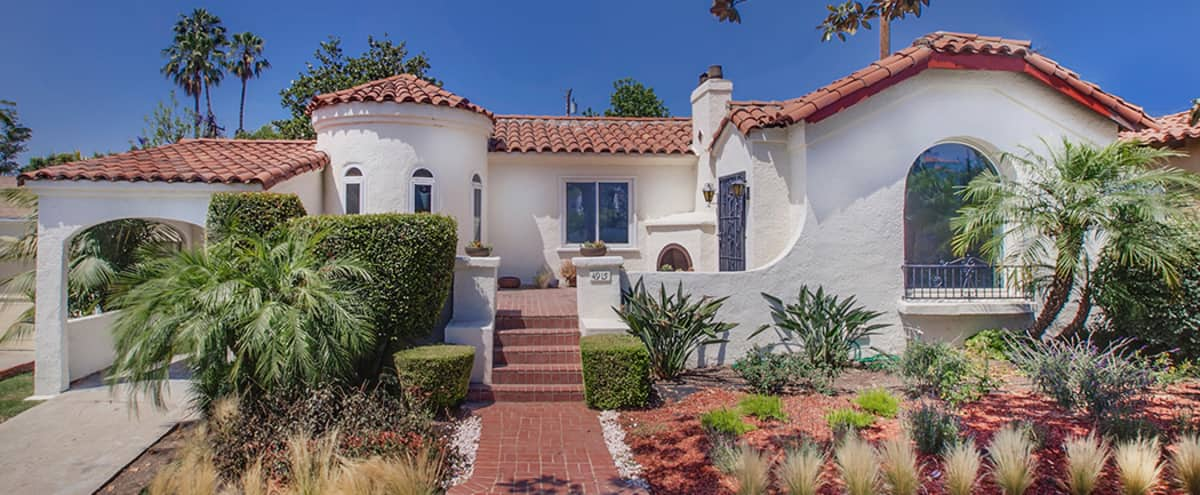 Stunning Spanish Colonial Revival Home with Modern Finishes and Gorgeous back yard in View Park Hero Image in View Park-Windsor Hills, View Park, CA