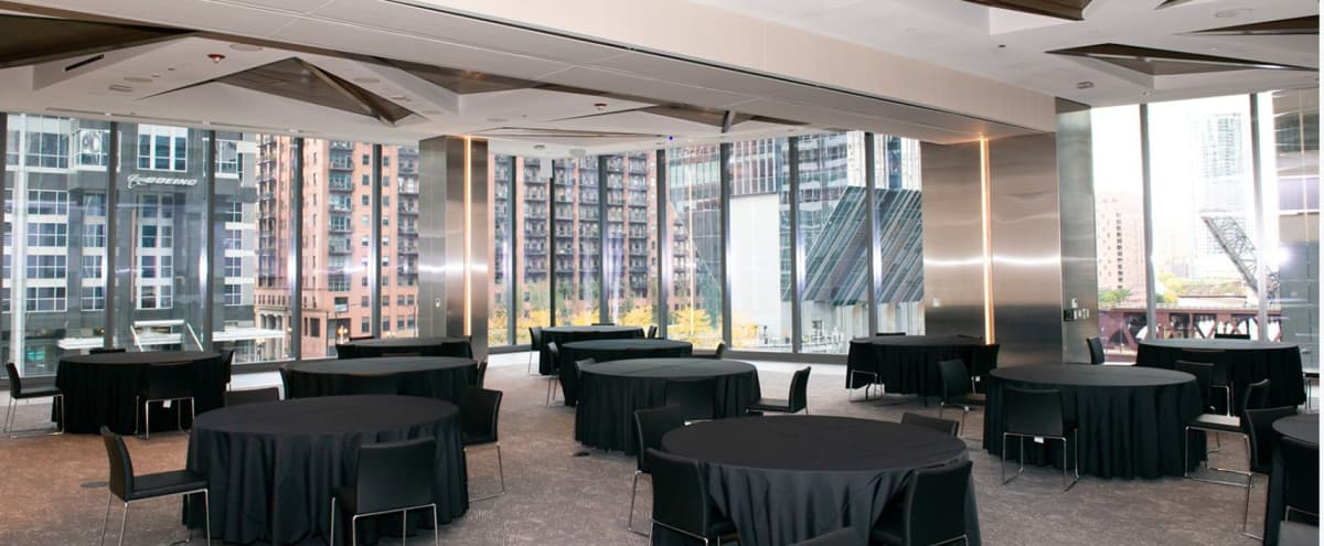 Downtown Event Space with River & City Views in Chicago Hero Image in Chicago Loop, Chicago, IL