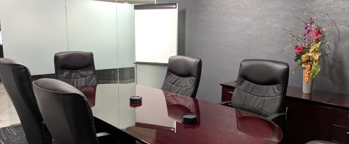 Meeting Room for 6 on Michigan Avenue in Chicago Hero Image in Chicago Loop, Chicago, IL