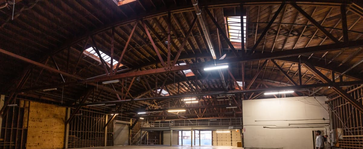 Massive Empty Warehouse with 1000 sq ft Industrial Refrigerator (Great for filming) in Long Beach Hero Image in Zaferia, Long Beach, CA