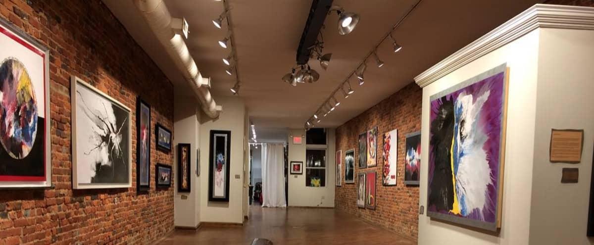 Unique Gallery Event Space - Great Lighting in Philadelphia Hero Image in Center City East, Philadelphia, PA