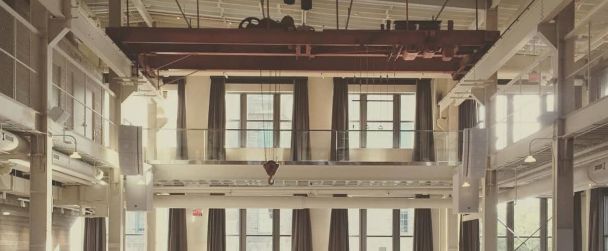 Bright + Industrial Luxe Historic Venue in Minneapolis Hero Image in Saint Anthony Main, Minneapolis, MN