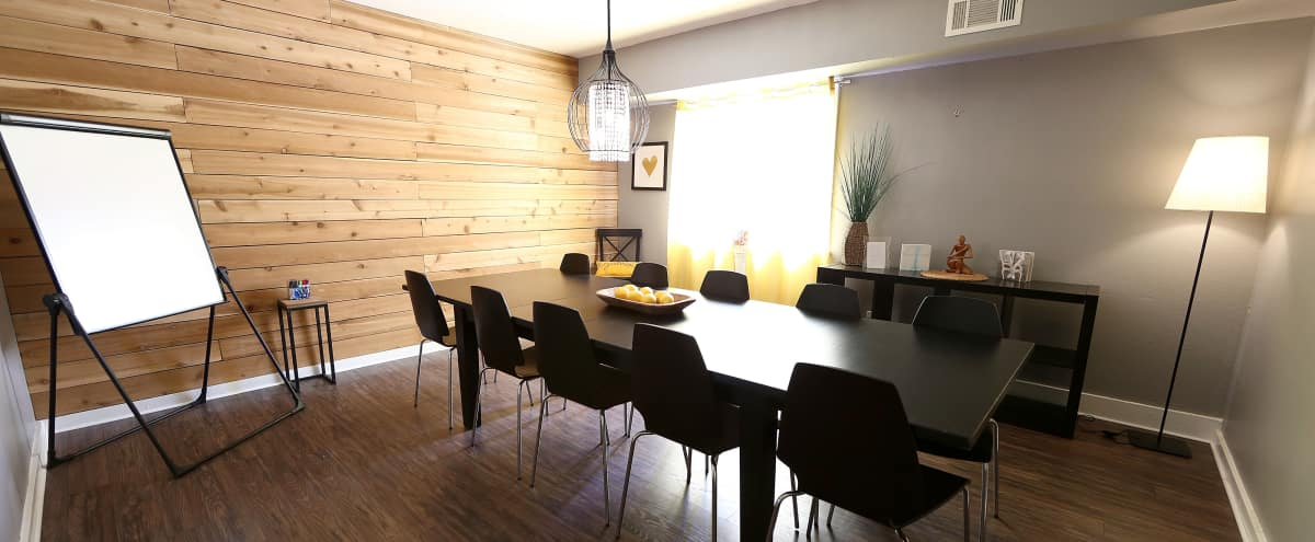 Eco Modern Conference Room in Austin Hero Image in East Austin, Austin, TX