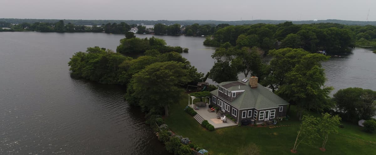 Centrally Located Cape Cod House on Private Peninsula in Center Lane Hero Image in Centerville, Center Lane, MA
