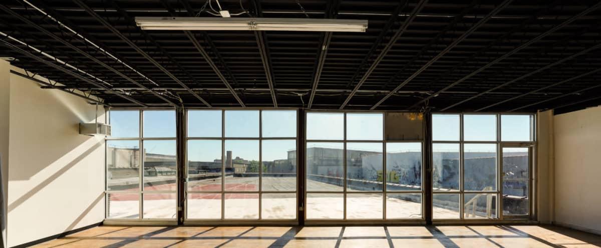 Brooklyn 2 - Daylight Photo Studio with East Facing Windows and Rooftop access in Brooklyn Hero Image in East Williamsburg, Brooklyn, NY
