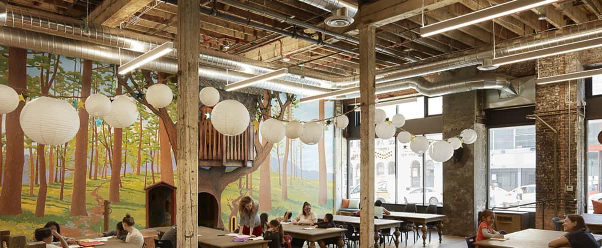 Whimsical, Vibrant Workspace in San Francisco Hero Image in Tenderloin, San Francisco, CA