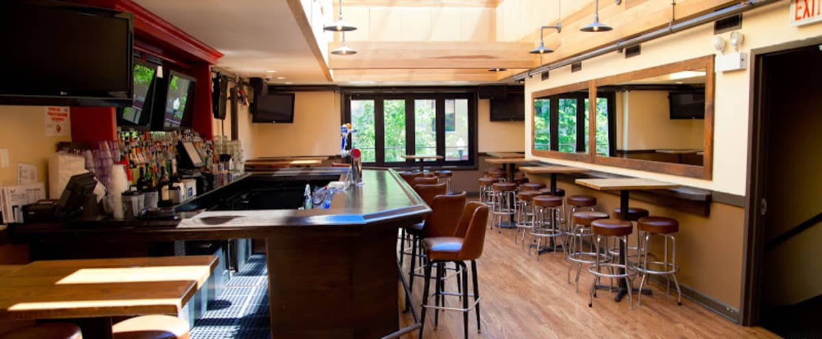Private rooftop bar with retractable ceiling in Chicago Hero Image in Lake View, Chicago, IL