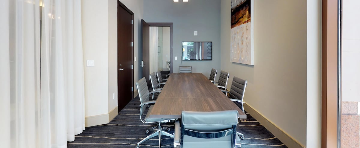 Modern Downtown Austin Conference Room 2 in Austin Hero Image in Downtown, Austin, TX