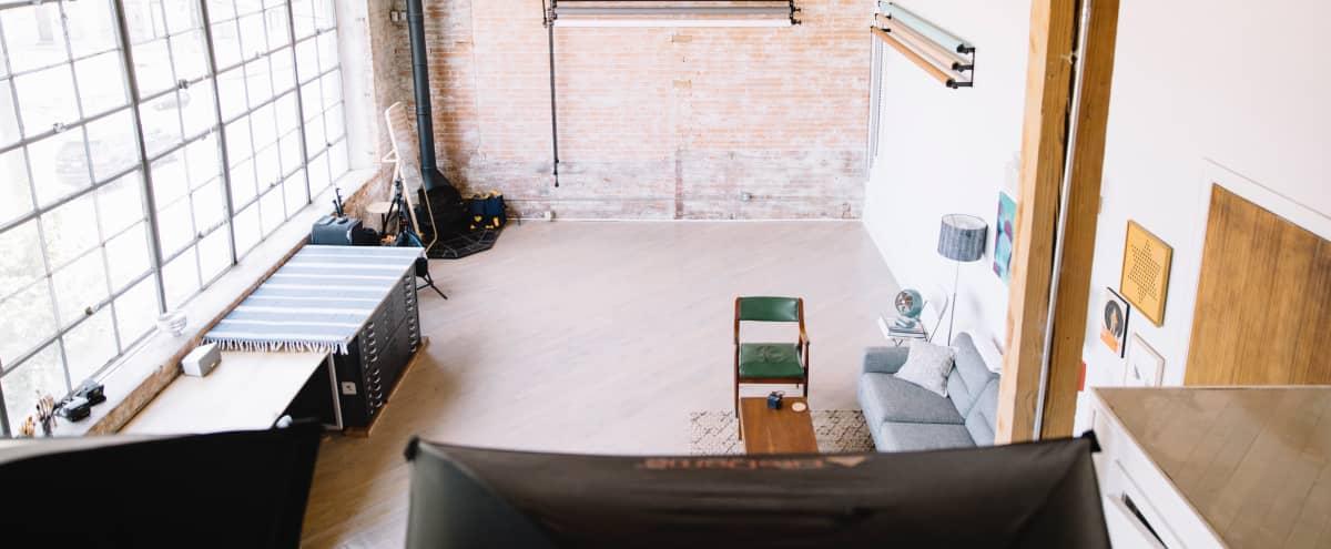 Sun-Drenched Production Studio | Studio No.3 | The Warehouse in Dallas Hero Image in Deep Ellum, Dallas, TX