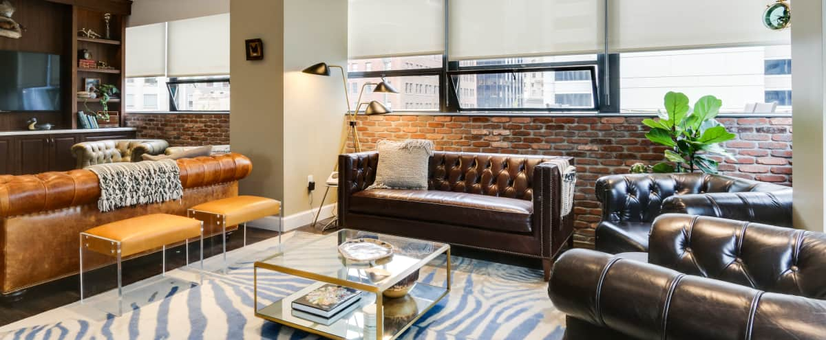 Downtown Penthouse in Historic Building with Kitchen, Outdoor Patio, and Bar in San Francisco Hero Image in Financial District, San Francisco, CA