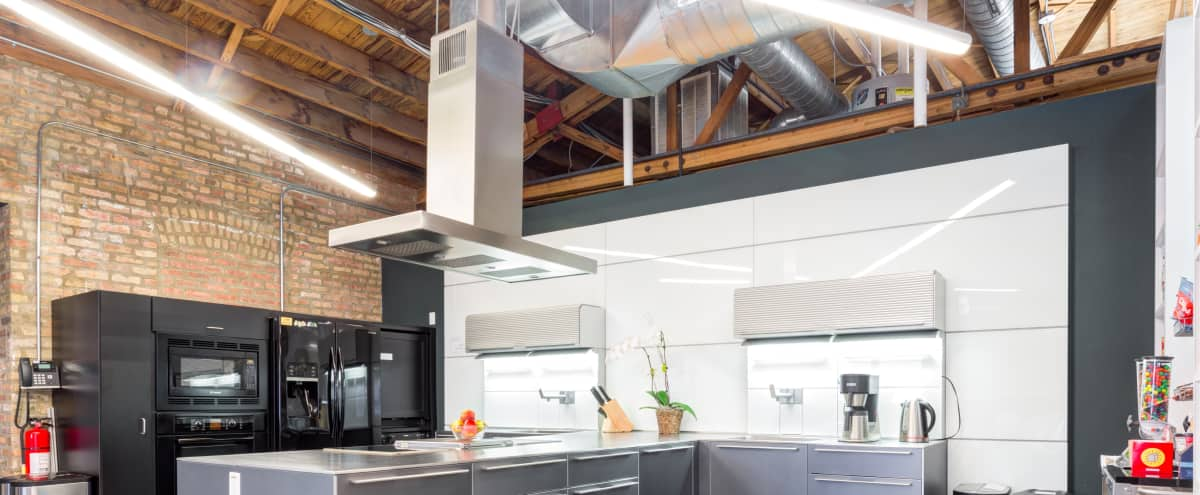 West Loop Commercial Kitchen & Meeting Space in Chicago Hero Image in Fulton Market, Chicago, IL