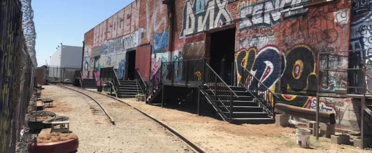 Downtown Graffiti Railroad Yard Filming and Photo Shoot in Los Angeles Hero Image in undefined, Los Angeles, CA