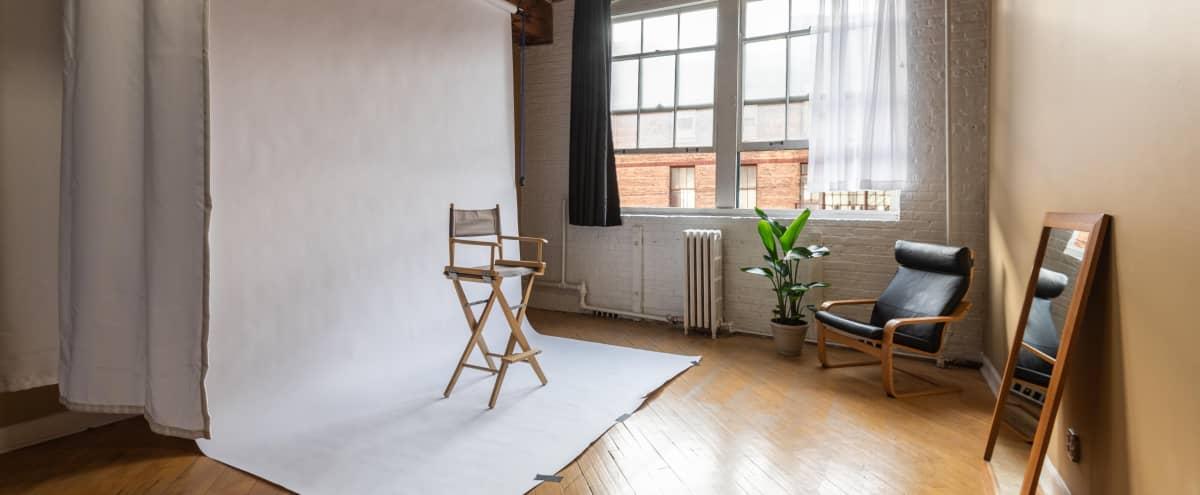 Photo / Video Studio with Room Divider in Pilsen in Chicago Hero Image in East Pilsen, Chicago, IL
