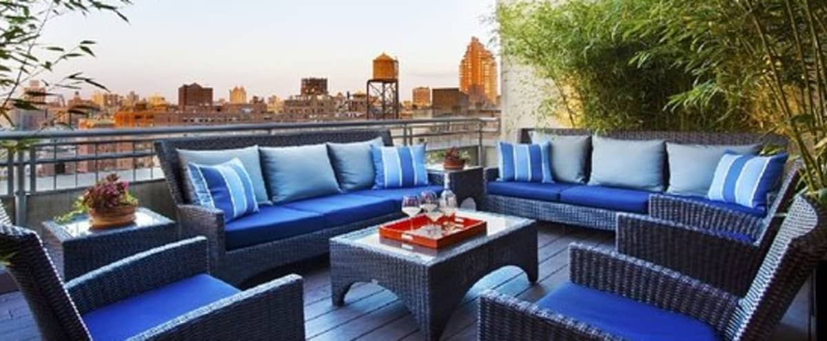 Uptown Rooftop Terrace with Fantastic view in New York City Hero Image in Upper West Side, New York City, NY