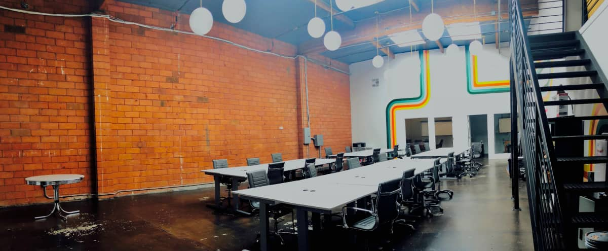 Bright and Airy Office with Large Bullpen, 2 Private Offices, and 2 Conference Rooms in Burbank Hero Image in undefined, Burbank, CA