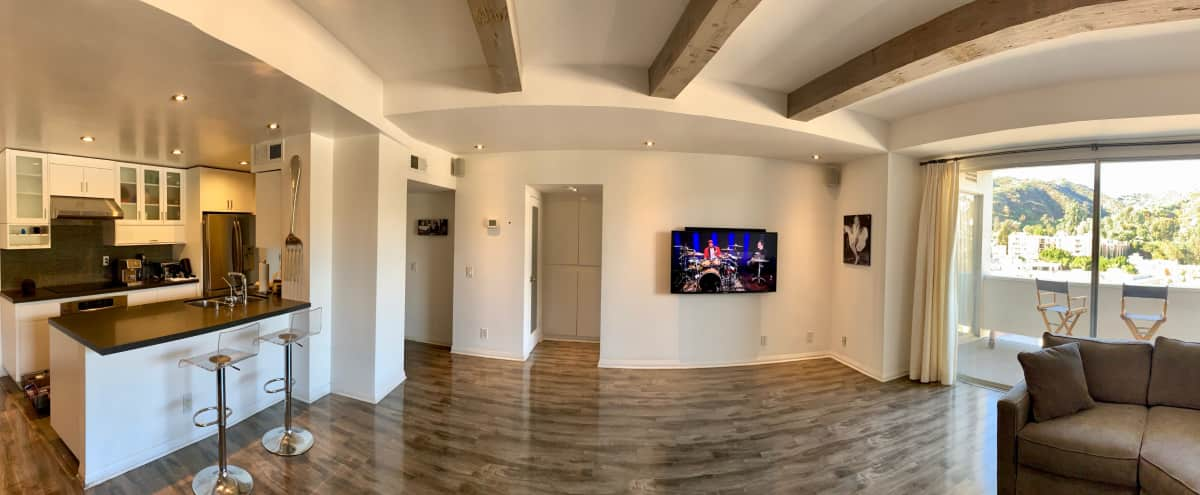 Clean, Spacious Condo with Beautiful Views & Lighting. Very Flexible. in West Hollywood Hero Image in Hollywood, West Hollywood, CA