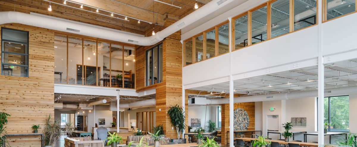 Bright, Modern Off-Site Venue with Kitchen, Breakout Rooms, AV & In-house Amenities in Austin Hero Image in Brentwood, Austin, TX