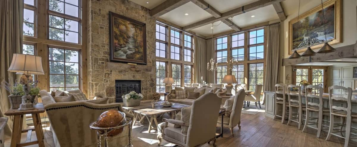 Elegant mountain retreat with scenic views nestled on the Snake River in Keystone Hero Image in undefined, Keystone, CO
