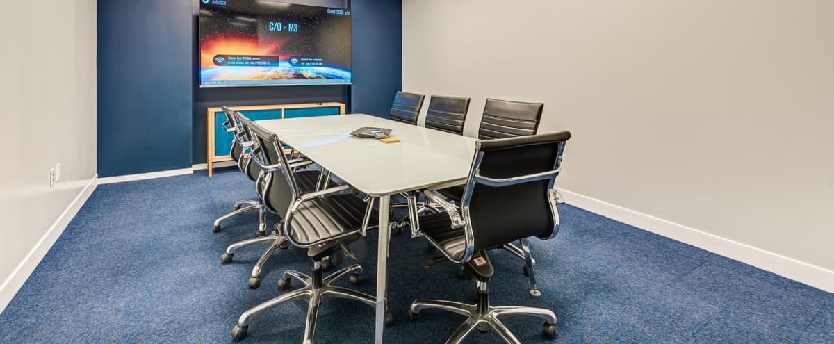 New Modern Meeting Room for 6 | M3 in Dallas Hero Image in Downtown, Dallas, TX