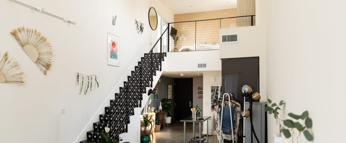 Bohemian-Inspired Contemporary Loft with Large Outdoor Patio in North Hollywood Hero Image in North Hollywood, North Hollywood, CA
