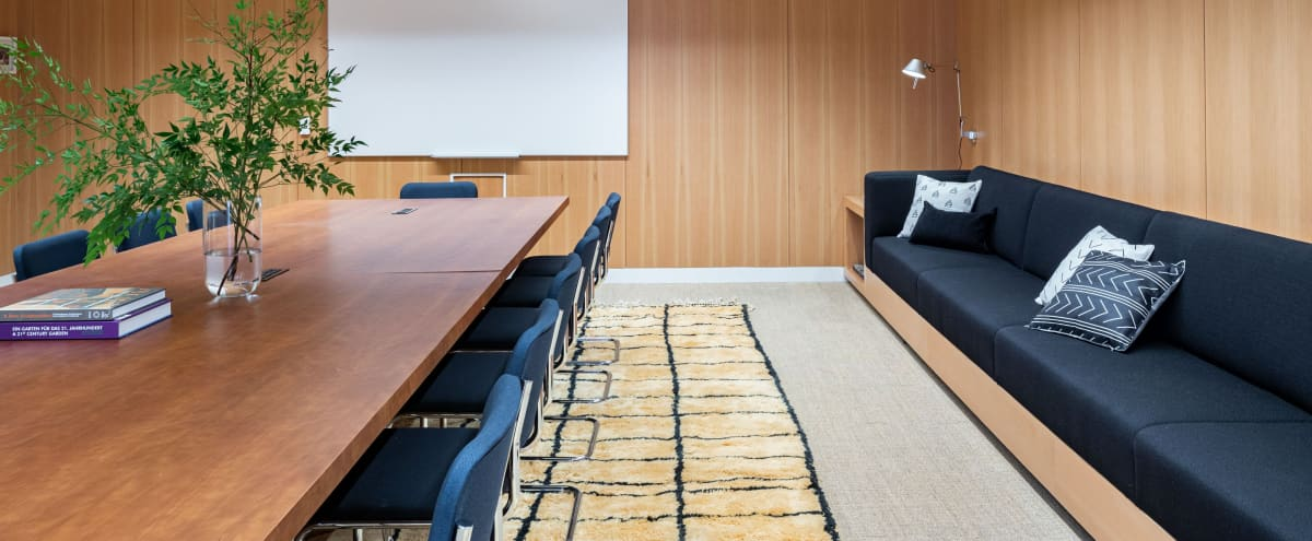 Large meeting space with attached lounge perfect for business and comfort in the heart of Beverly Hills in Beverly Hills Hero Image in undefined, Beverly Hills, CA