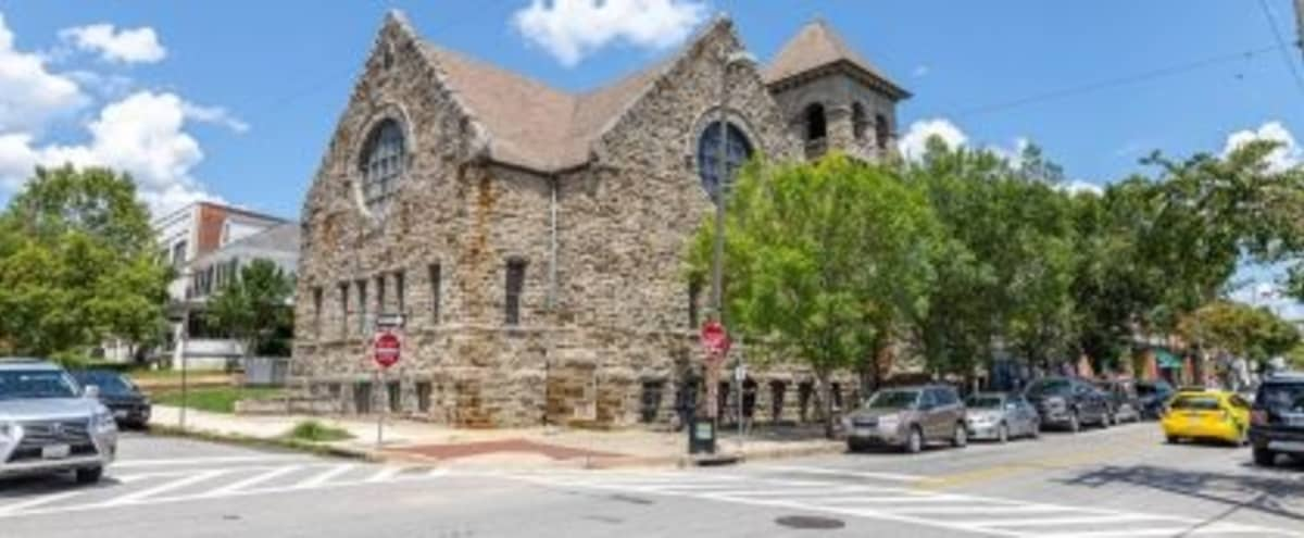 Renovated church with boardrooms and lounge areas in Baltimore Hero Image in Hampden, Baltimore, MD